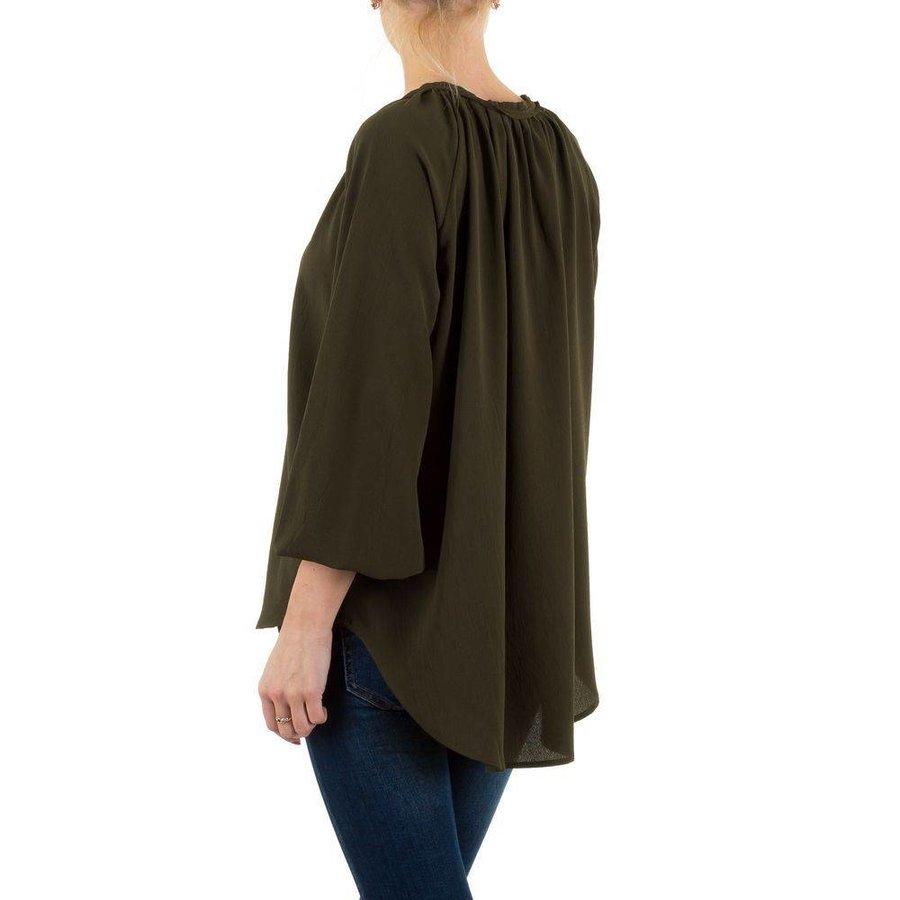 Damen Bluse - khaki