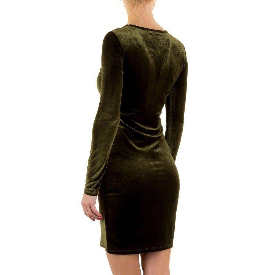 Damen Kleid - green