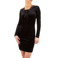 Damen Kleid - black