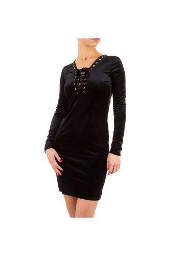 Neckermann Dames  jurk- zwart