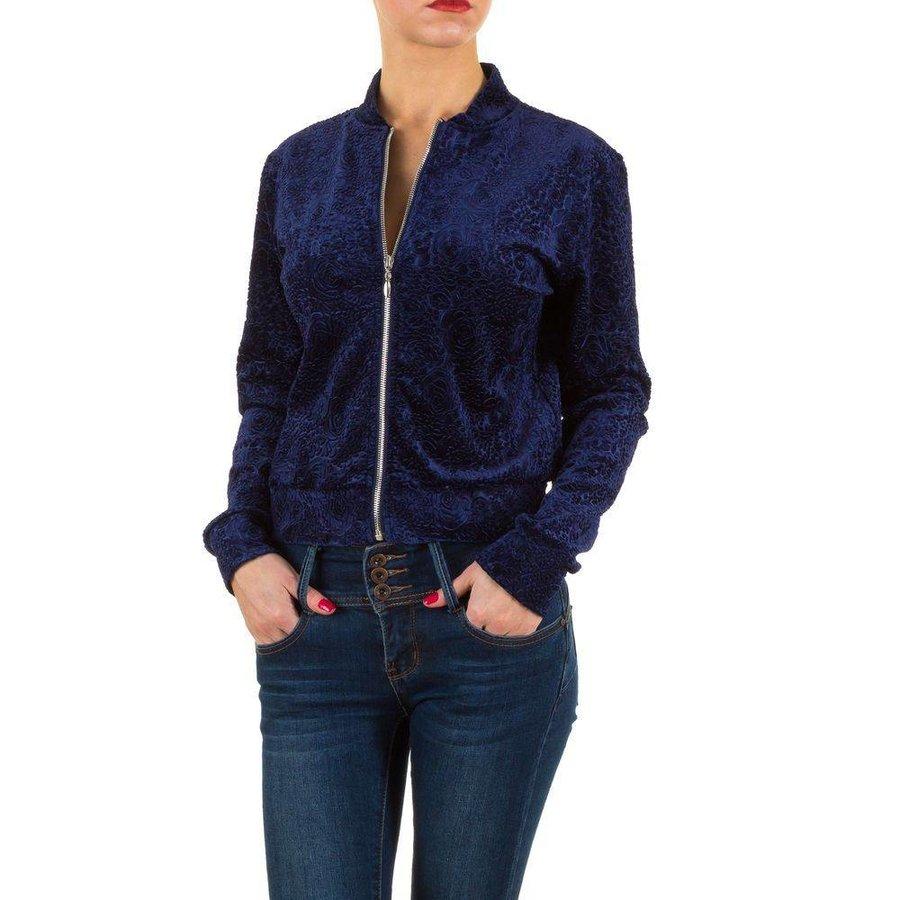 Damen Jacke - blau