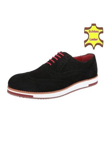COOLWALK Chaussure pour homme en cuir de Coolwalk noir