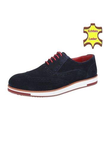 COOLWALK Chaussure pour homme en cuir de Coolwalk marine