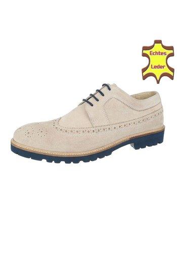 COOLWALK Chaussure pour homme en cuir de Coolwalk Beige