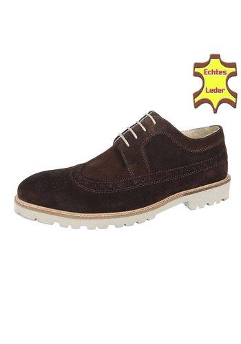 COOLWALK Chaussure pour homme en cuir de Coolwalk marron