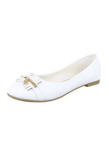 Neckermann Damen Ballerinas - white