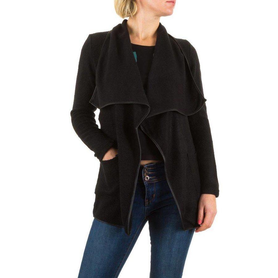 Damen Strickjacke von Best Emilie - schwarz/grün