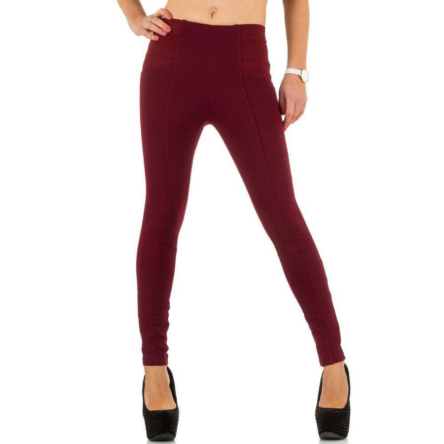 Damen Jeans von Best Emilie - Dunkelrot