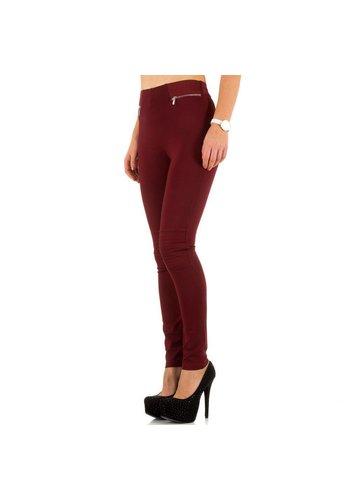 BEST EMILIE Dames jeans van Best Emilie - bordeaux