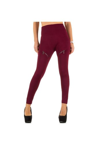 Best Fashion Damen Leggings von Best Fashion Gr. one size - wine