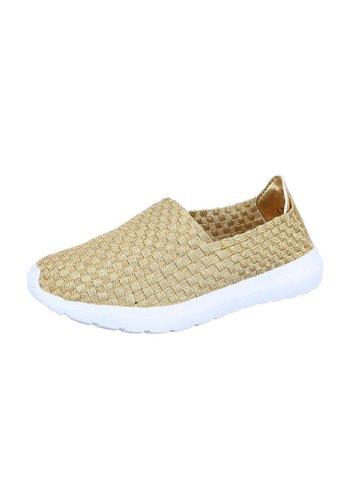 Neckermann Dames Sneakers - goud
