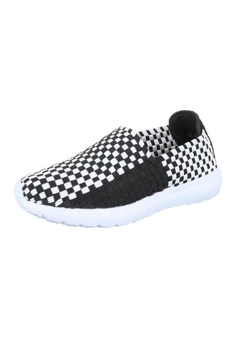 Neckermann Dames Sneakers - zwart/wit
