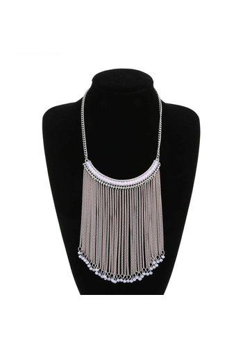Neckermann Dames halsketting - zilver kleur
