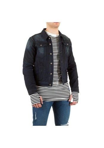 SIXTH JUNE Veste jeans jeans masculin six mois - bleu foncé