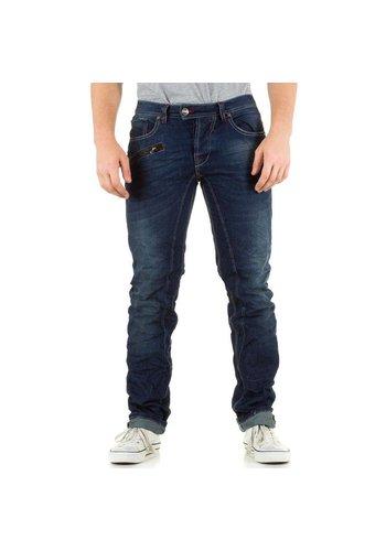 SIXTH JUNE Heren Jeans van Sixth June  -Blauw