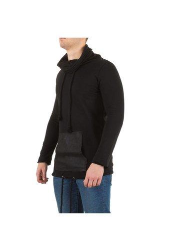 SIXTH JUNE Pullover masculin du sixième juin - noir