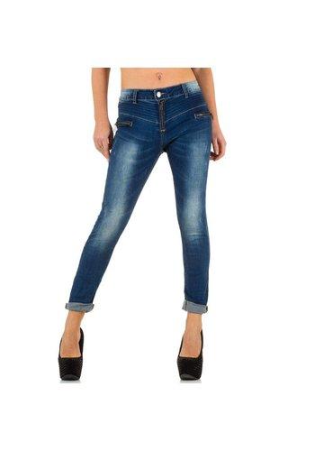 Mozzaar Dames Jeans van Mozzaar  - Blauw