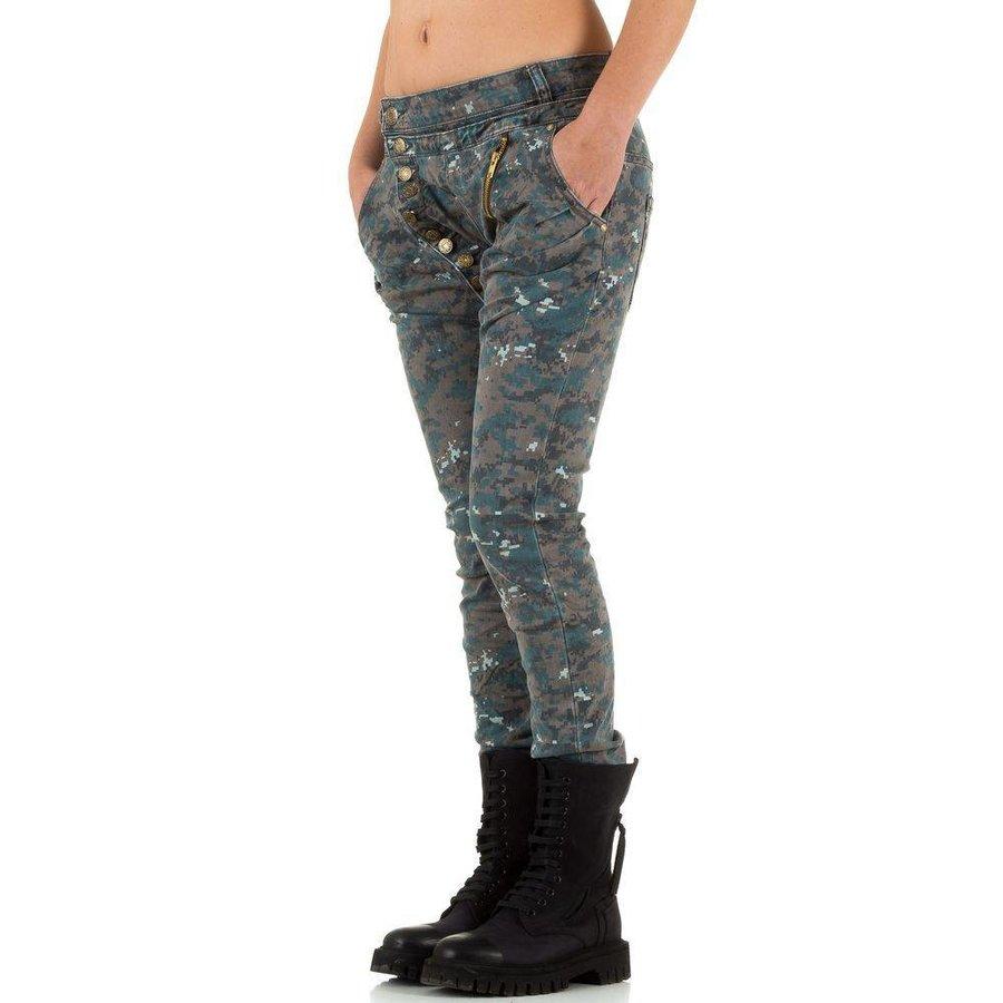 Damen Jeans von Mozzaar  - armygreen