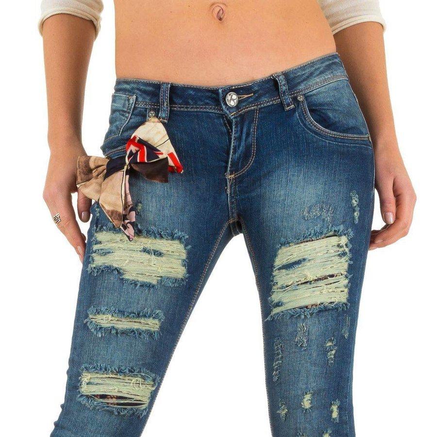 Damen Jeans von Mozzaar  - blue