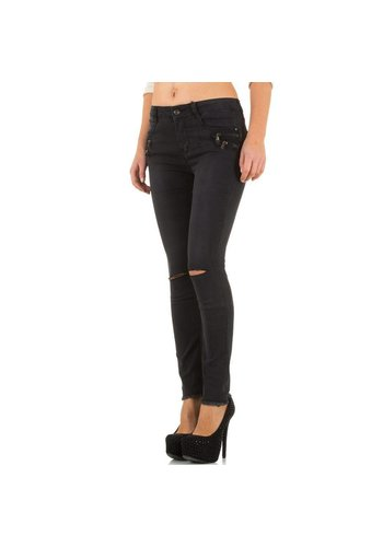 Bestiny Denim Dames Jeans van Bestiny Denim  - Zwart