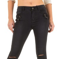 Damen Jeans von Bestiny Denim  - black