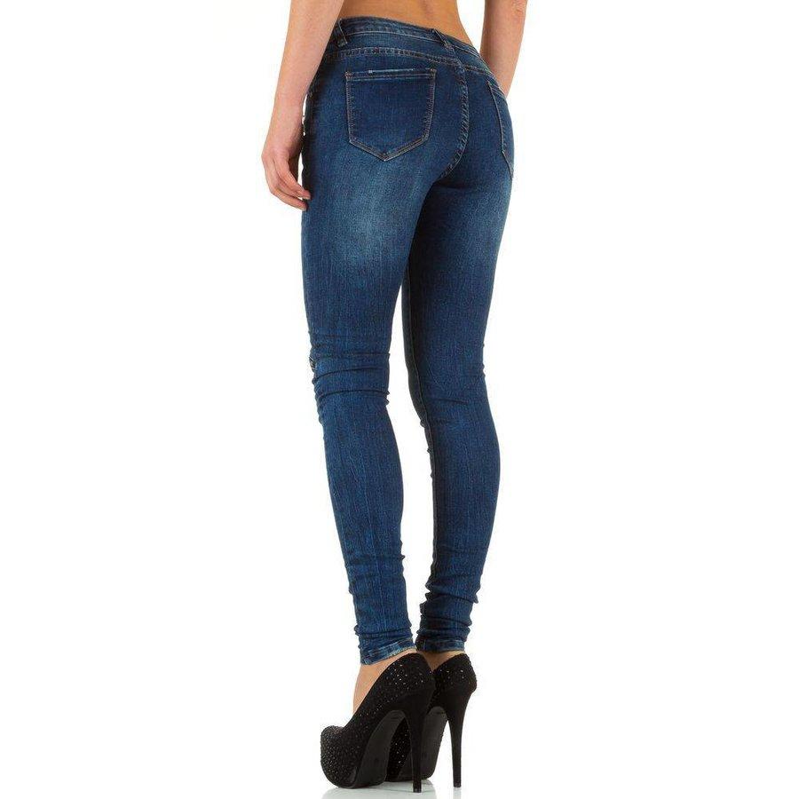 Damen Jeans von Laulia  - blue