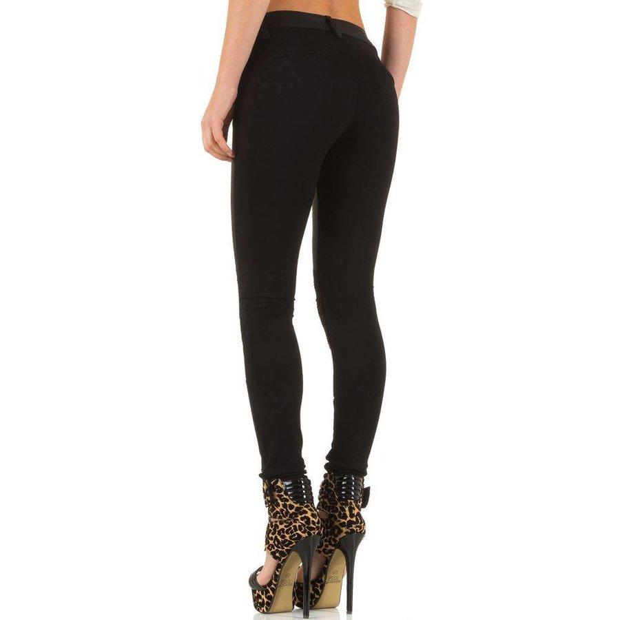 Damenhose aus Laulia - schwarz