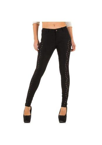 Laulia Dames Jeans van Laulia  - Zwart