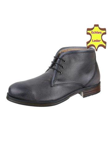 COOLWALK Chaussures pour hommes en cuir de COOLWALK -Gris