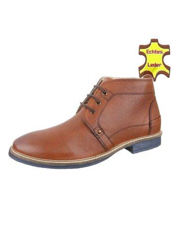 COOLWALK Chaussures pour hommes en cuir de COOLWALK - Tan