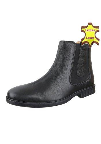 COOLWALK Bottines en cuir pour homme de COOLWALK - noir