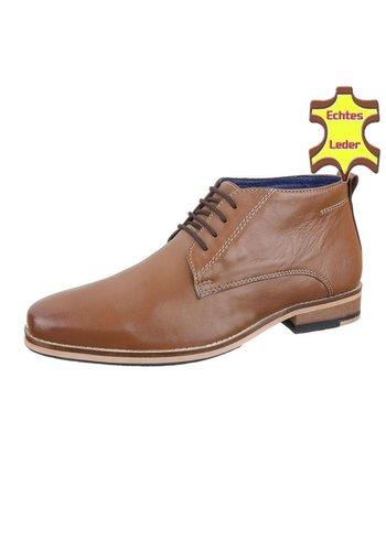 COOLWALK Leder Herren Businessschuhe von COOLWALK - brown