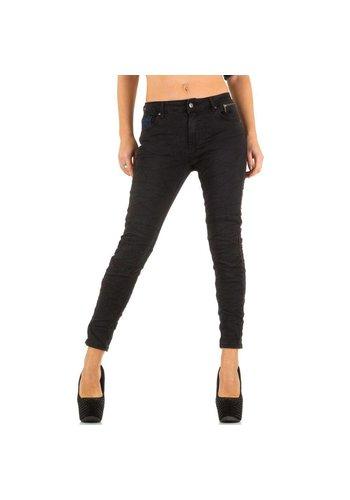 Smagli Jeans Dames Jeans van Smagli Jeans -zwart