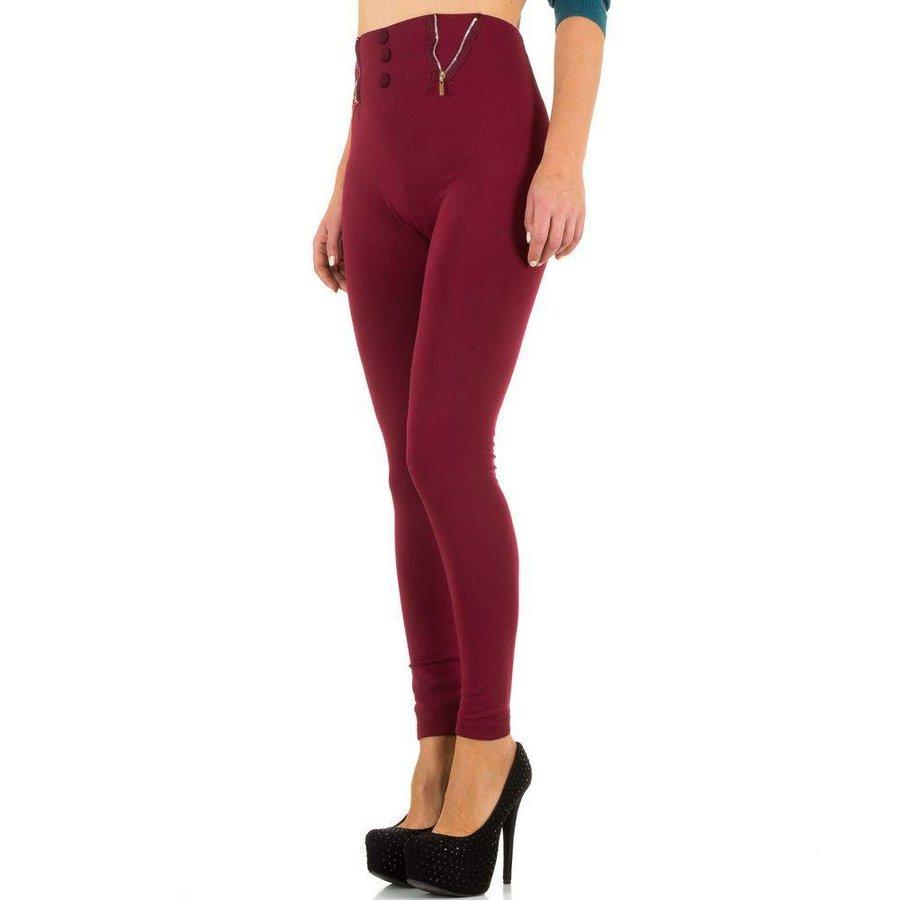 Damen Leggings von Best Fashion  one size - wine