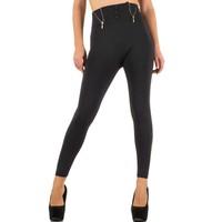 Dames legging van Best Fashion one size - grijs