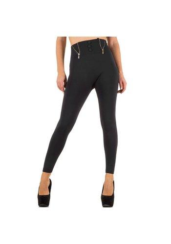 Best Fashion Dames legging van Best Fashion one size - grijs