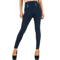 Damen Leggings von Best Fashion  one size - blau