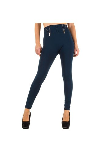 Best Fashion Damen Leggings von Best Fashion  one size - blau