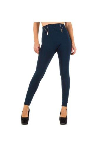 Best Fashion Dames legging van Best Fashion one size - blauw