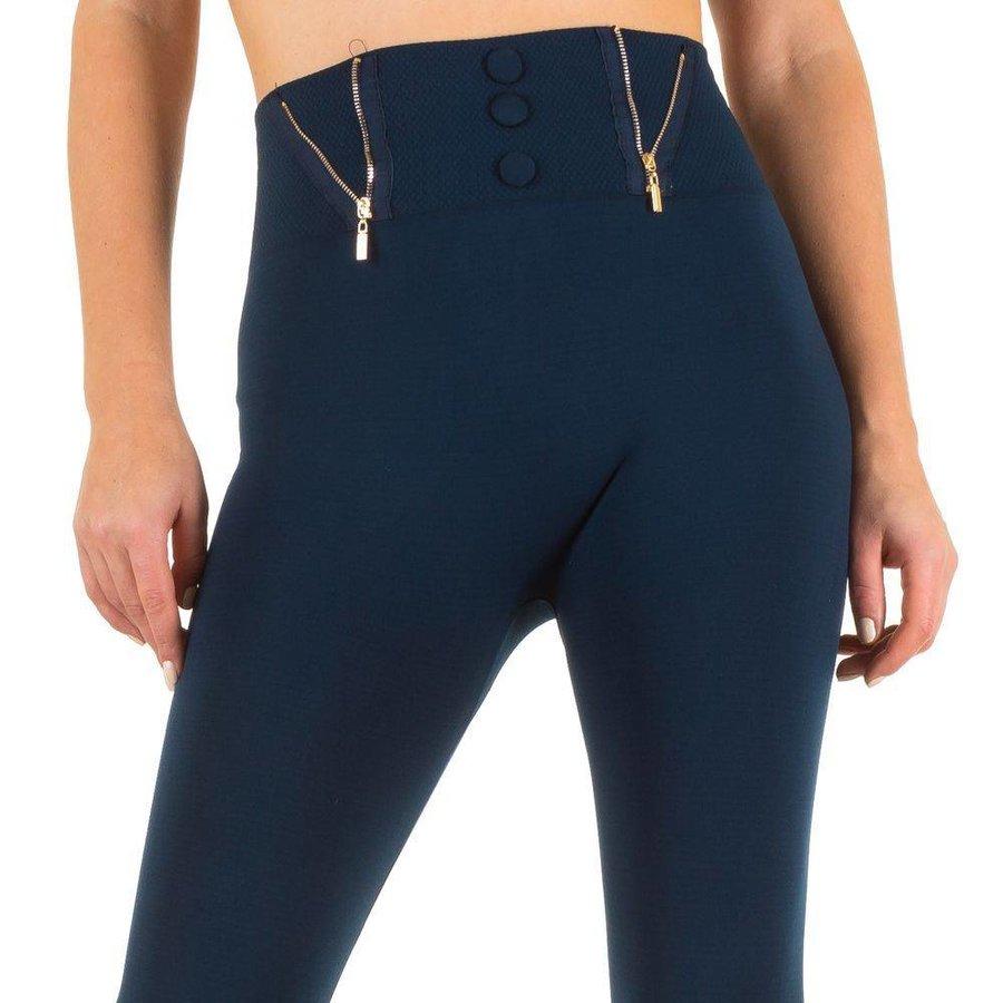 Dames legging van Best Fashion one size - blauw