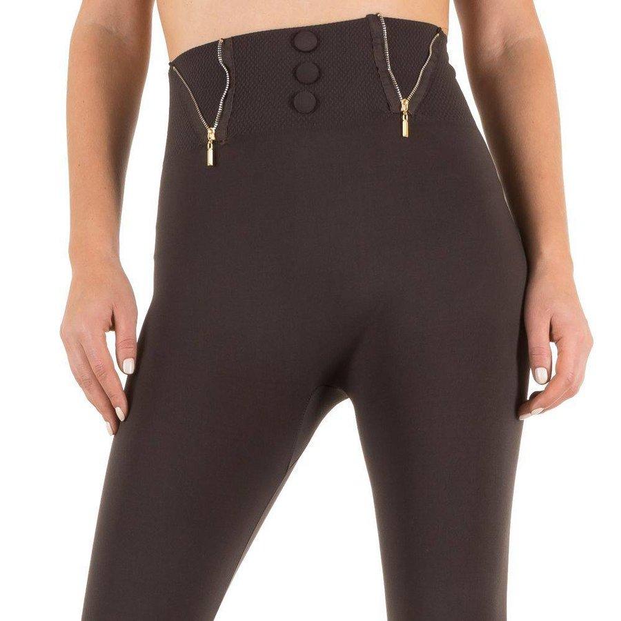 Damen Leggings von Best Fashion Gr. one size - brown