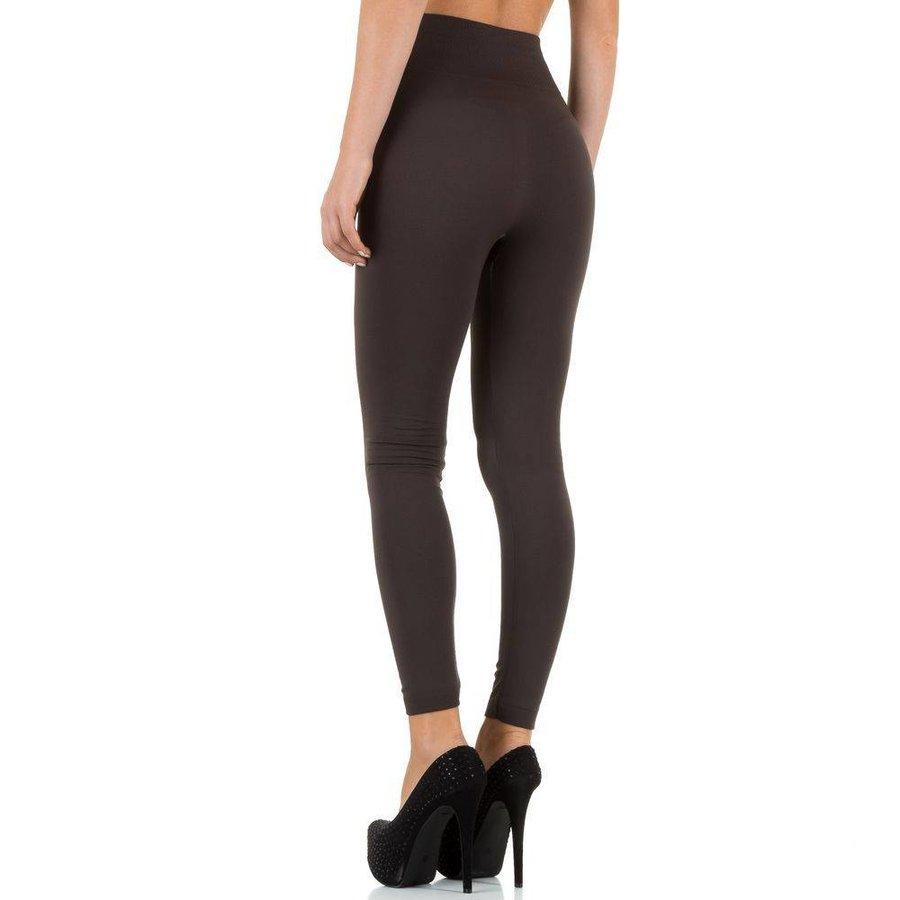 Damen Leggings von Best Fashion Gr. one size - taupe