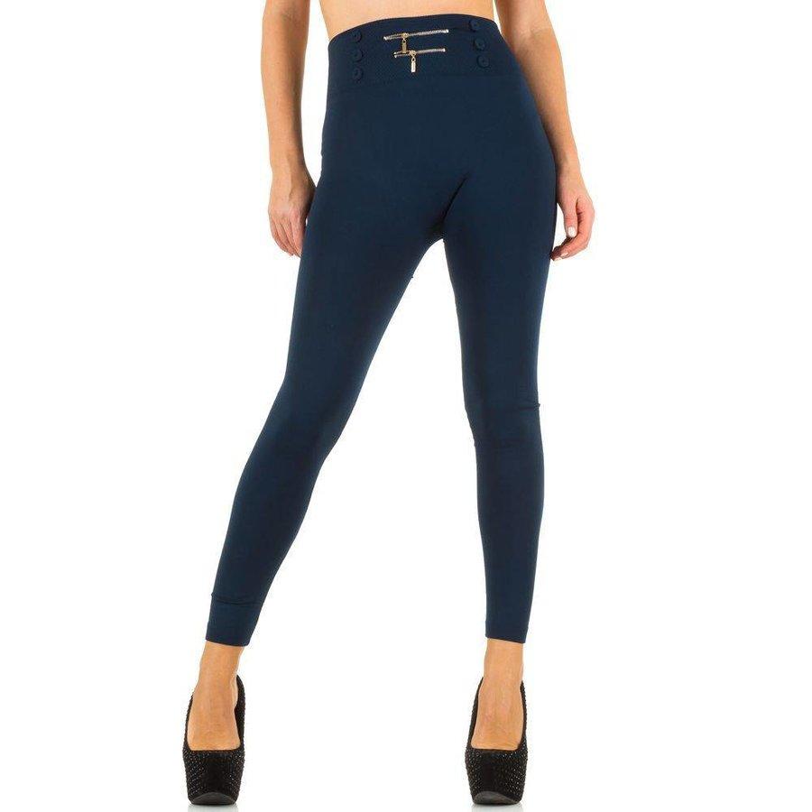 Dames Leggings van Best Fashion one size - Blauw
