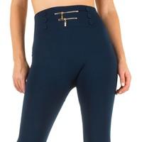Damen Leggings von Best Fashion Gr. one size - blue