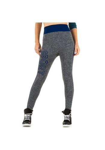 Best Fashion Dames legging van Best Fashion Gr. one size -grijs/blauw