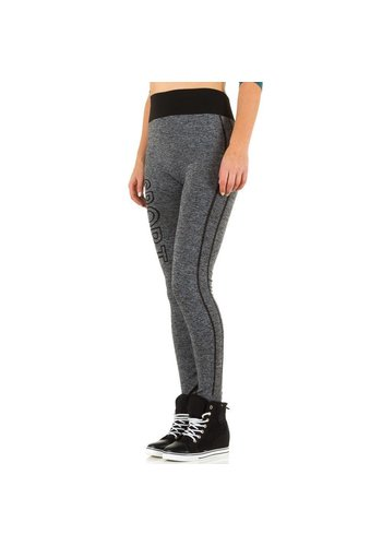 Best Fashion Dames legging van Best Fashion Gr. one size -grijs/zwart