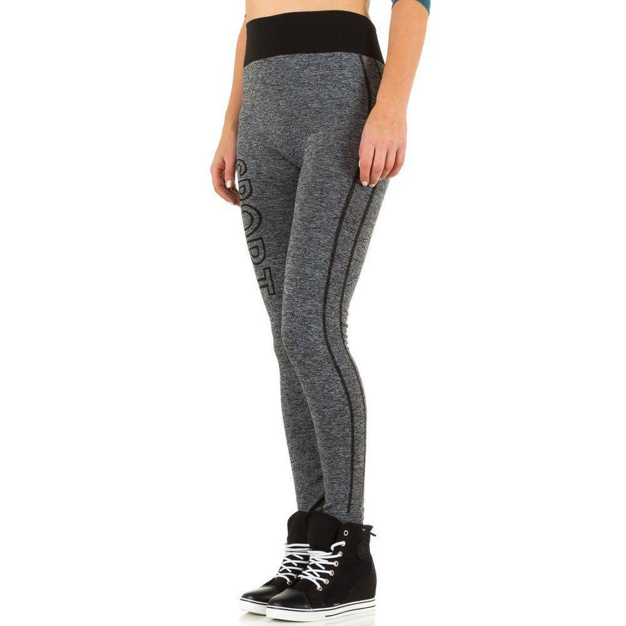 Dames legging van Best Fashion Gr. one size -grijs/zwart