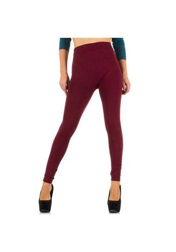 Best Fashion Dames legging van Best Fashion Gr. one size - bordeaux