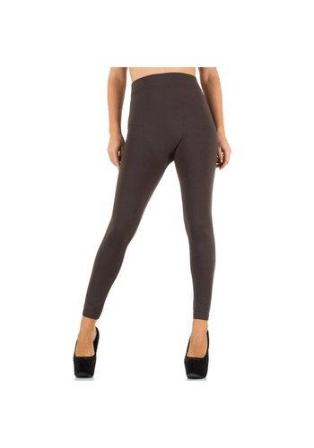Neckermann Damen Leggings von Best Fashion Gr. one size - brown