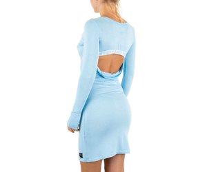 Licht Blauwe Jurk : Dames jurk van sixth june licht blauw neckermann